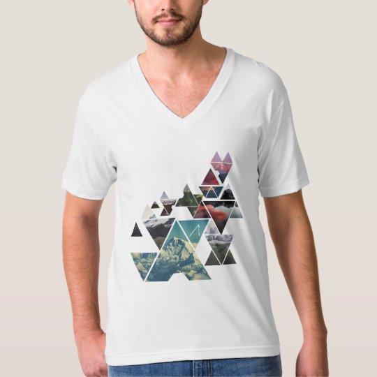mountainous white shirt
