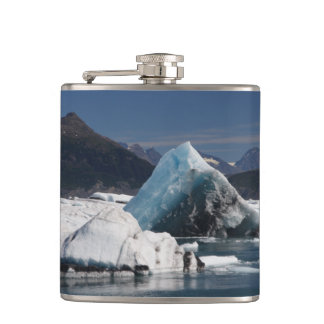 mountains and ice flask