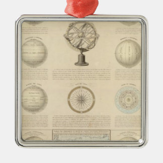 Mountains and River of the World Christmas Ornament