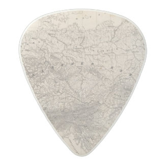 Mountains and Rivers of Europe Acetal Guitar Pick