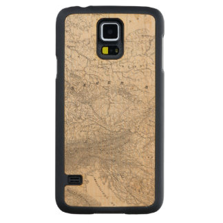 Mountains and Rivers of Europe Carved Maple Galaxy S5 Case