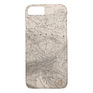 Mountains and Rivers of Europe iPhone 8/7 Case