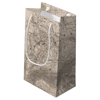Mountains and Rivers of Europe Small Gift Bag