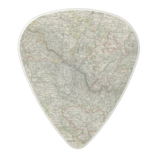 Mountains and Rivers of Hildburghausen Germany Acetal Guitar Pick