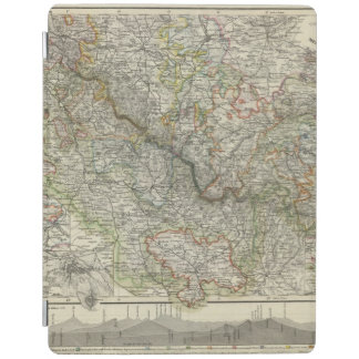 Mountains and Rivers of Hildburghausen Germany iPad Cover