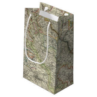 Mountains and Rivers of Hildburghausen Germany Small Gift Bag