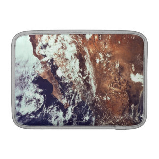 Mountains and Seas Seen from Space MacBook Sleeves