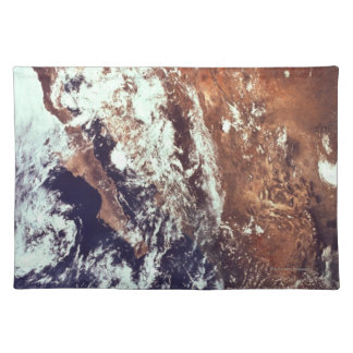 Mountains and Seas Seen from Space Placemat