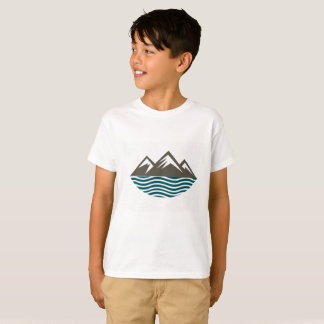 Mountains and Waves T-Shirt