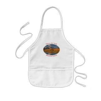 mountains apron