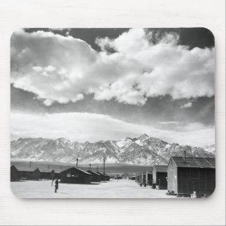 Mountains at Manzanar 1943 Mousepads