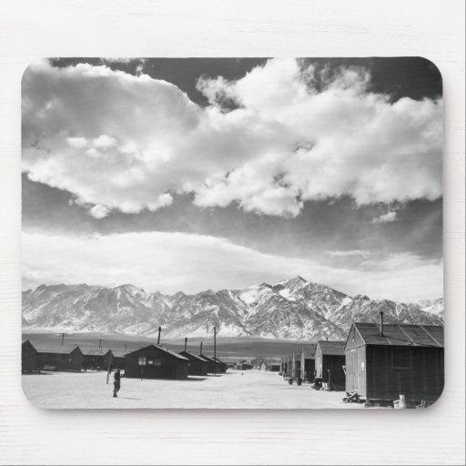 Mountains at Manzanar, 1943 Mousepads
