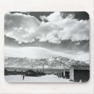 Mountains at Manzanar 1943 Mousepads