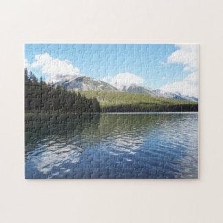 Mountains Banff Puzzle