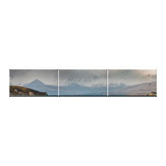 Mountains Behind Lake Tekapo Canvas Print