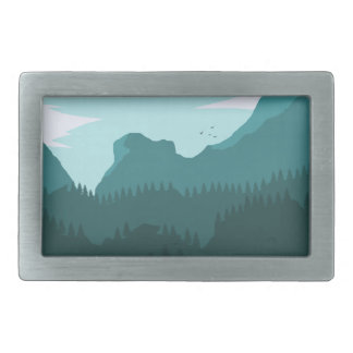 Mountains Belt Buckle