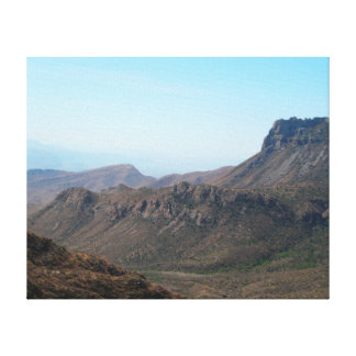 Mountains Big Bend National Park-Texas Stretched Canvas Prints