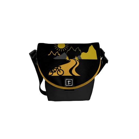 Mountains & Biking Mini-Messenger Bag Commuter Bags