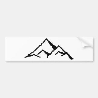 Mountains Bumper Sticker