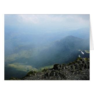 MOUNTAINS LARGE GREETING CARD