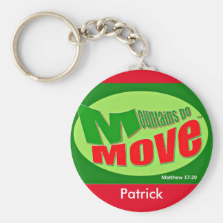 Mountains Do Move Christian Key Chain