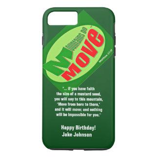 Mountains Do Move iPhone 7Plus, Tough Cell Case