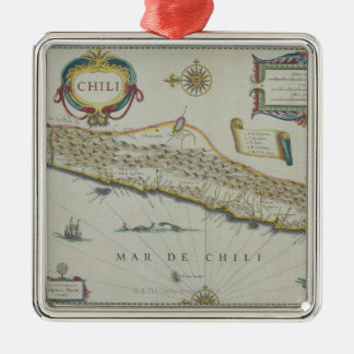 Mountains in Chile Christmas Ornament