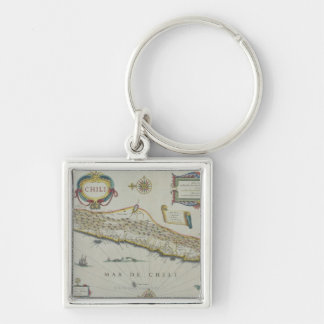 Mountains in Chile Keychain