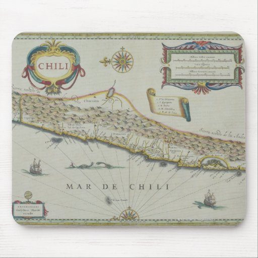 Mountains in Chile Mousepad