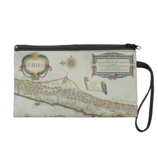 Mountains in Chile Wristlet