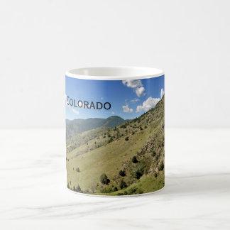 mountains in Morrison Colorado Coffee Mug