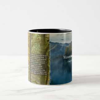 Mountains in the Clouds, Oregon's Elliott SF Cover Two-Tone Coffee Mug