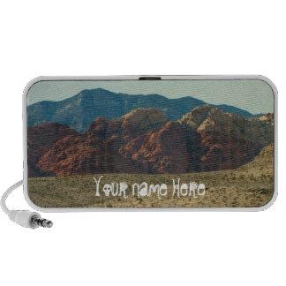 Mountains in the Desert; Customizable Portable Speaker