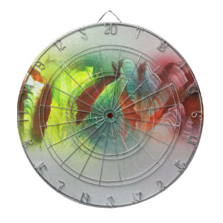 Mountains in the mist dartboard