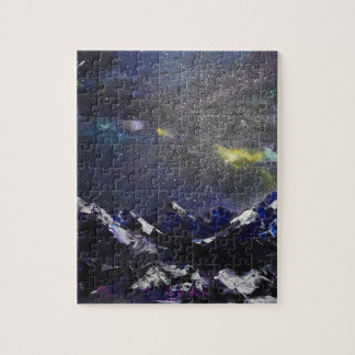 Mountains in the night jigsaw puzzle
