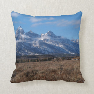 Mountains in the Western USA Pillow