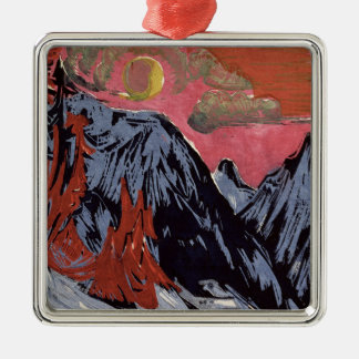 Mountains in Winter, 1919 Christmas Ornament