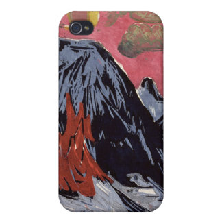 Mountains in Winter, 1919 iPhone 4 Cases