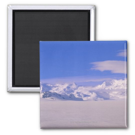 Mountains in Wrangell-St.Elias National Park Magnet