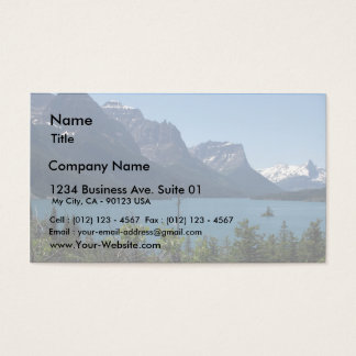 Mountains Maontana Glacier Parks Business Card