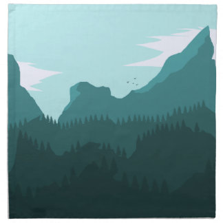 Mountains Napkin
