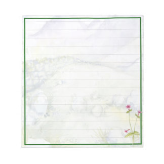 Mountains Notepad