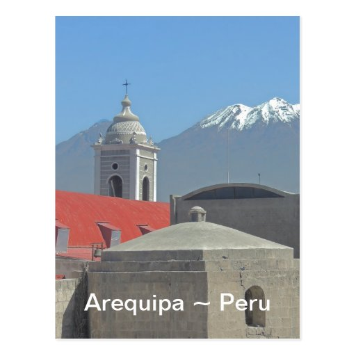 Mountains of Arequipa Peru Postcard