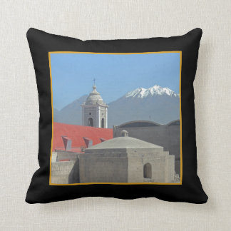 Mountains of Arequipa Peru Throw Pillow