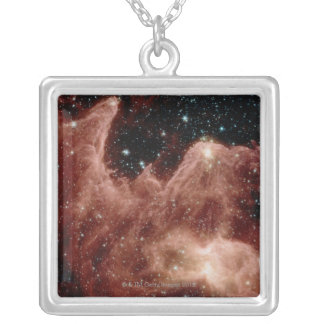 Mountains of Creation Silver Plated Necklace