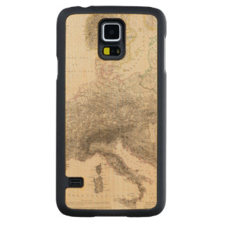 Mountains of Europe Carved Maple Galaxy S5 Case