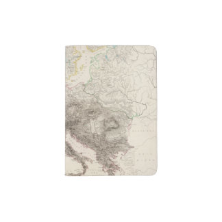 Mountains of Europe Passport Holder