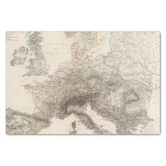Mountains of Europe Tissue Paper