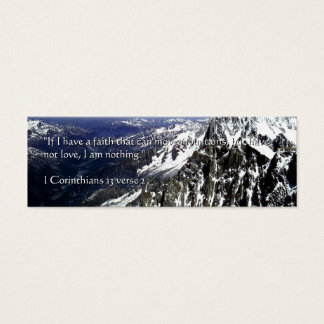 Mountains of Faith | Mini Business Card