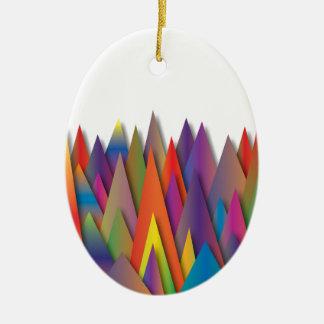 Mountains of Harmoni.jpg Christmas Ornament